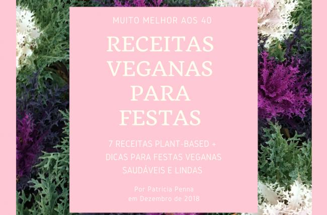 Receitas Veganas para Festas